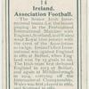 Ireland. Association Football.