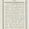Welsh Football Union.
