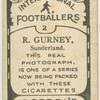R. Gurney, Sunderland.
