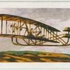 Wright brothers aeroplane.