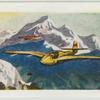 Gliding in the Alps.