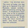 """Laika,"" the Sputnik dog."