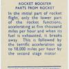 Rocket booster parts from rocket.