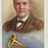 Thomas A. Edison.  Phonograph.