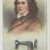 Elias Howe.  Sewing machine.