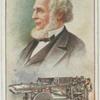 Col. R.M. Hoe.  Rotary printing press.