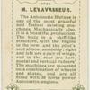 M. Levavasseur.  Antoinette aeroplane motor.