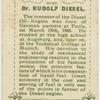 Dr. Diesel.  Oil engine.