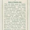 Ballinsloe, Béal-átha-na-sluaigheadh, the ford-mouth of the hostings.