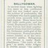 Ballygowan, Baille-ghabhann, the town of the smiths.