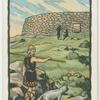Cashel, Caiseal, a circular stone fort.
