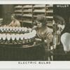 Electric bulbs.
