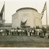 Administration Building - Crowd in front