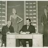 Administration Building - Preview Exhibit - Saks Fifth Avenue display, official and Grover Whalen