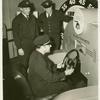 Aetna Exhibit - Man driving Steerometer