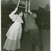 American Common - Barn Dance - Man and woman kiss