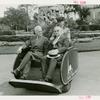 American Express Participation - Mayor Burton and Jack Riley on cart