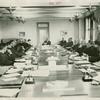 American Telephone & Telegraph Exhibit - Robert Kohn and Walter Gifford in Board of Directors Room