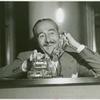 American Telephone & Telegraph Exhibit - Adolph Menjou talking on phone to Director David Butler