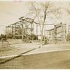 American Telephone & Telegraph Exhibit - Building - Construction - Looking East