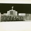 American Telephone & Telegraph Exhibit - Building - Model - Close-up of trees