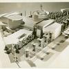 American Telephone & Telegraph Exhibit - Building - Model - Side view