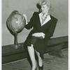 Amusements - American Jubilee - Woman with globe