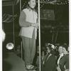 Amusements - American Jubilee - Man on stage