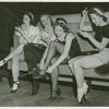 Amusements - American Jubilee - Performers - Chorus girls sitting on couch