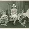 Amusements - American Jubilee - Performers - Chorus girls with flags