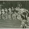 Amusements - American Jubilee - Performers - Chorus girls perform with man