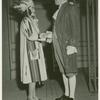 Amusements - American Jubilee - Performers - George Washington and girl