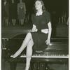 Amusements - American Jubilee - Performers - Christie, Irene - Sitting on piano
