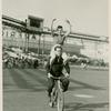 Amusements - American Jubilee - Performers - Middleton, Ray - On bicycle