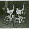 Amusements - American Jubilee - Scenes - Bicycle Number - Two girls on bicycles