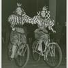 Amusements - American Jubilee - Scenes - Bicycle Number - Two girls in costume on bicycles