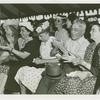 Amusements - American Jubilee - Scenes - Presidential Campaign/ Vote Casting - Audience
