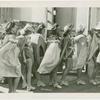Amusements - Aquacade - Women in costume backstage