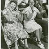 Amusements - Audiences - Two girls clapping