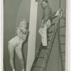Amusements - Dance - Dancer in romper, painter on ladder