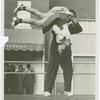 Amusements - Dance - Man spinning dance partner in air