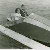 Amusements - Games and Rides - Couple in paddle boat