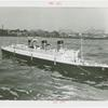Amusements - Games and Rides - Miniature Boats - Two men in Queen Mary