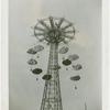Amusements - Games and Rides - Parachute Jump - Parachutes descending