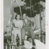 Amusements - Games and Rides - Parachute Jump - Rathbone couple on ride