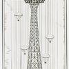Amusements - Games and Rides - Parachute Jump - Sketch