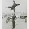 Amusements - Midway Activities - Two acrobats