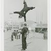 Amusements - Midway Activities - Two acrobats