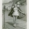 Amusements - Midway Activities - Tattooed lady with cape