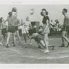 Amusements - Midway Activities - N.T.G. women playing basketball